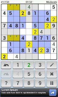 Andoku Sudoku 2 Free screenshot 03