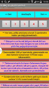 İlginç Bilgiler Ansiklopedisi screenshot 13