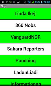 Naija Blogs screenshot 0