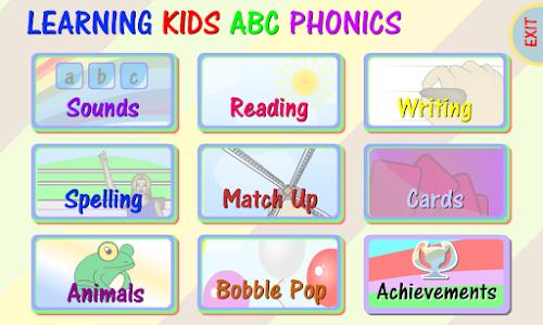 Learning Kids ABC Phonics Pro screenshot 0