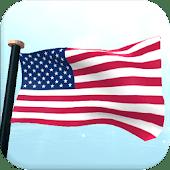 US Flag 3D Free Live Wallpaper