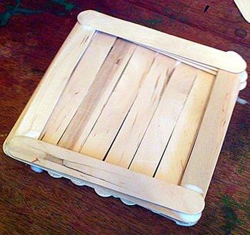 The treasure box taking shape