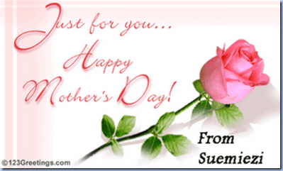 Mother's day-Sue