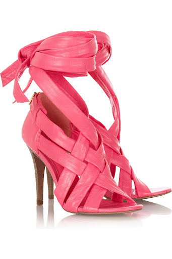 Wrap Up leather sandals by Tory Burch at Net-A-Porter