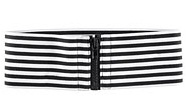 Black and white belt by H&M