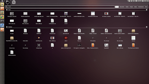Unity Desktop