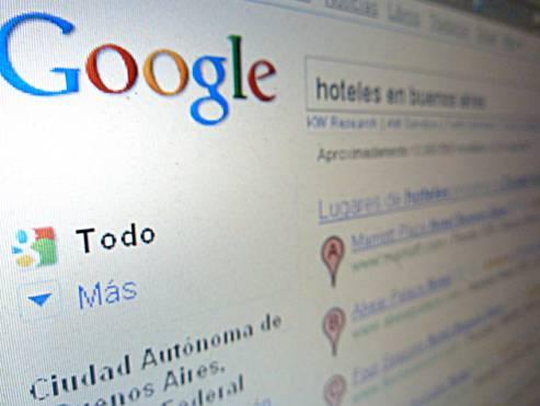 Buscar sobre viajes en Internet