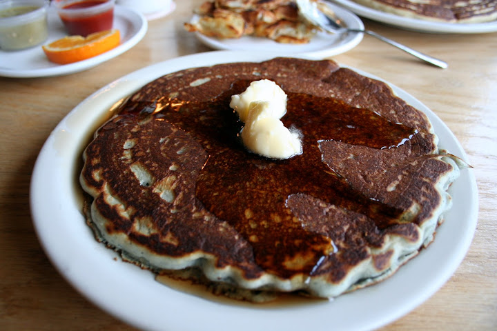 Chocolate Walnut Pancake