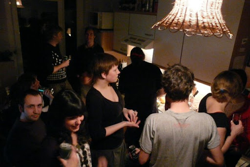 April 5. Biggest birthday party I ever had. Also quite international. The trick was to host 30 guests withouth them spilling into my flatmates bedrooms.