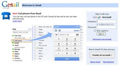 Gmail Call outside US