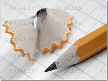 vässad penna