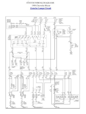 Anyone have a Tail Light wiring Diagram? 1998 22L pickup