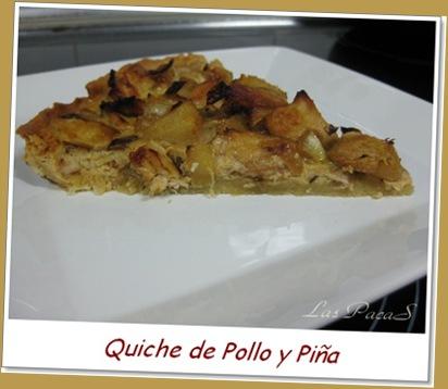 Quiche de piña y pollo (2)