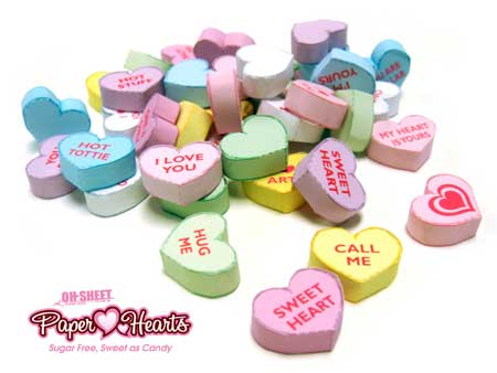 Sweet Papercraft Hearts