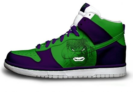 Gambar : Nike-shoes-design-hulk