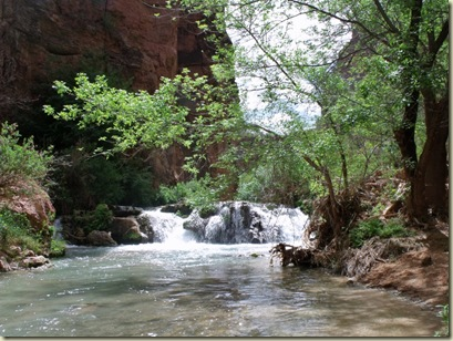 08 Waterfall Havasu Creek Havasupai Indian Reservation AZ (1024x768)