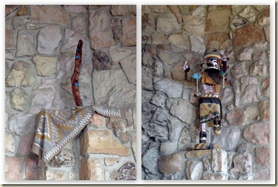 Kachinas in sunroom Grand Lodge North Rim Grand Canyon National Park Arizona