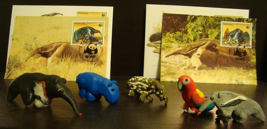 Żeby nie było - mrówkojady te ten pierwszy z lewej i pierwszy z prawej