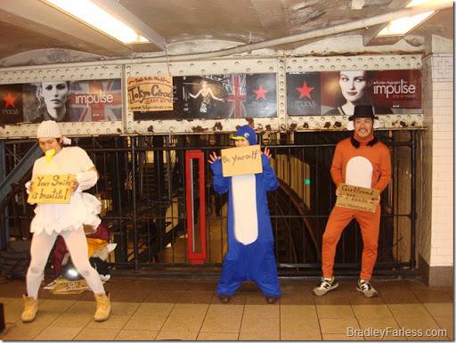 Tokyo Circus in Union Square Station, Manhattan, New York City.