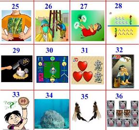 看圖猜成語 – 你會多少? | Learning Notes-學習手札