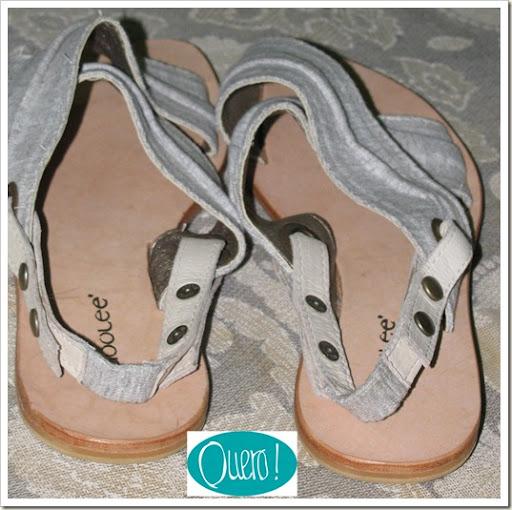 Sandália de moleton, Loja Quero