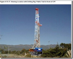 the drill rig