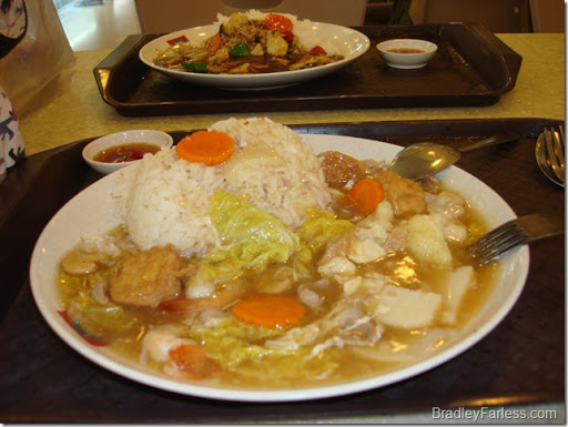 Chinese food in Singapore.