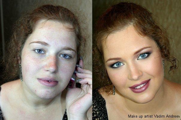 makeup before after vandreev 4 - 13 Fotos de maquiagem incríveis antes e depois