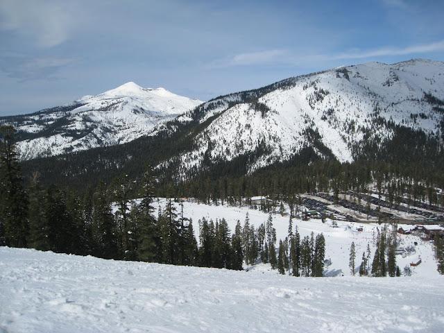 One of Sierra at Tahoes amazing views.