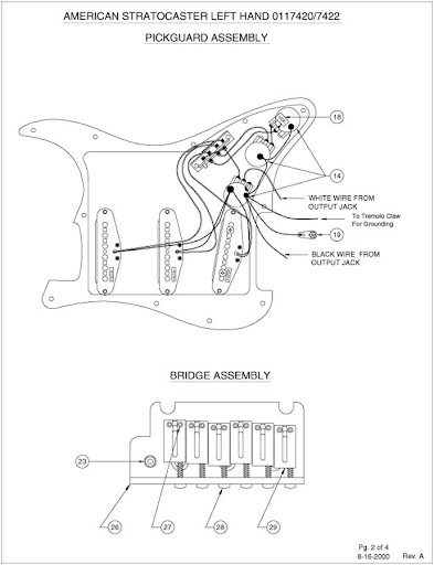 Left Handed Fender Strat Wiring Diagram : 39 Wiring