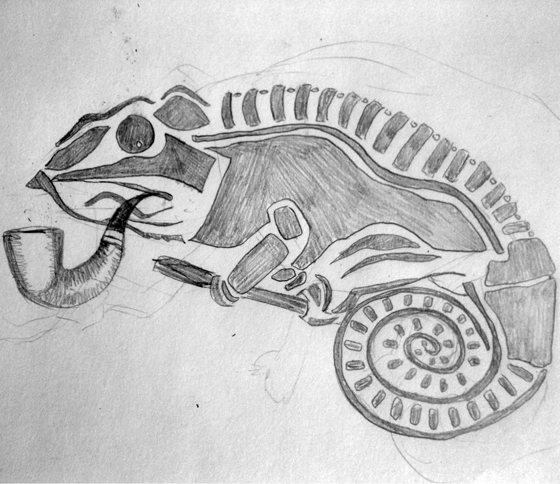 Original Chameleon Design