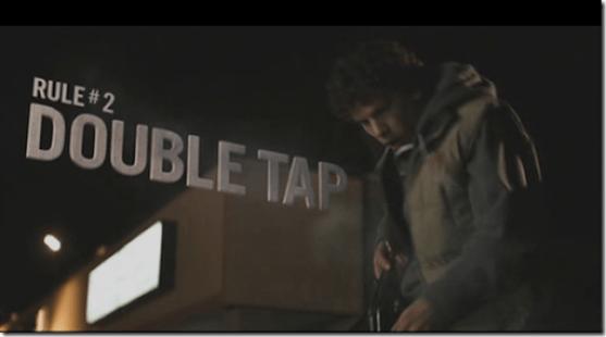 Rule 2-Double Tap