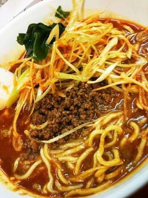 ネギ坦々麺@ふうりゅう@梅島