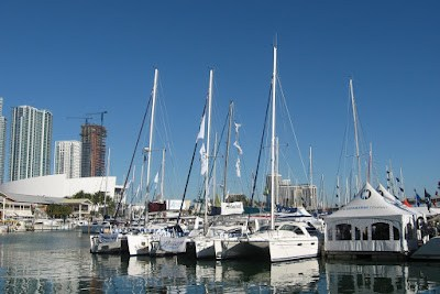 Strictly Sail part of Miami Boat Show
