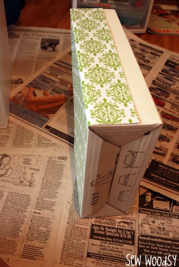Tutorial Customized Magazine Holders - Sew Woodsy