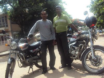 Samaresh & Udhaya (Biker buddies)