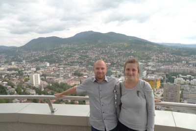 View over Sarajevo