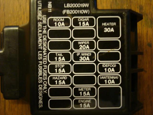 94 cadillac fuse box diagram