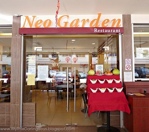 My 2 Little Darlings Jayden  Javier Reunion Lunch  Neo Garden Restaurant