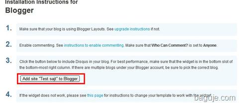 blogger disqus