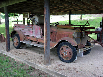 Old Fire Truck - 1923