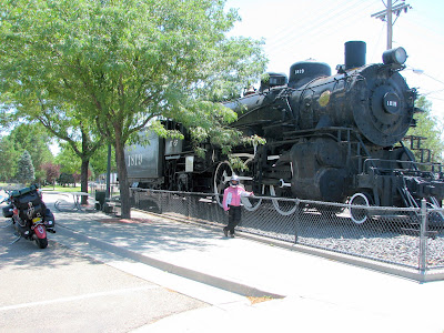 Every visitors center must have a old train out front