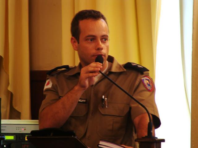 O tenente Alexandre Antunes reforçou a necessidade de se priorizar a prevenção