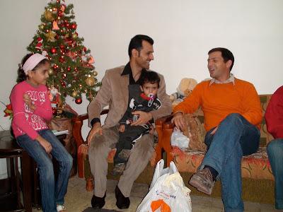 Visitant una família iraquiana a Beirut