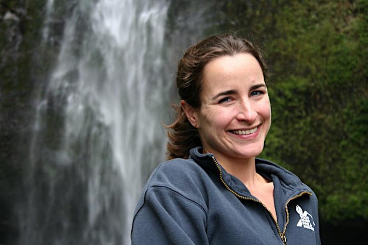 Jenni at the Falls