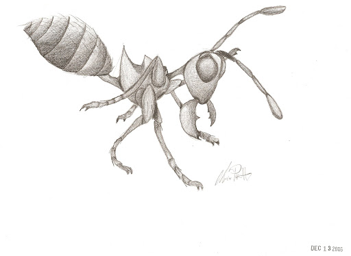 cut and paste ant coloring pages