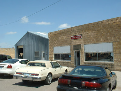 Traveled back to the now defunct dealership where the car was originally sold in Quinter, KS.