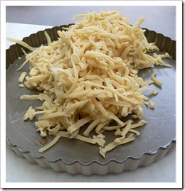 Grated pastry