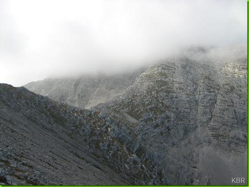 Warscheneck in Wolken