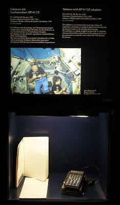 Deutsches Museum HP-41CX exhibit